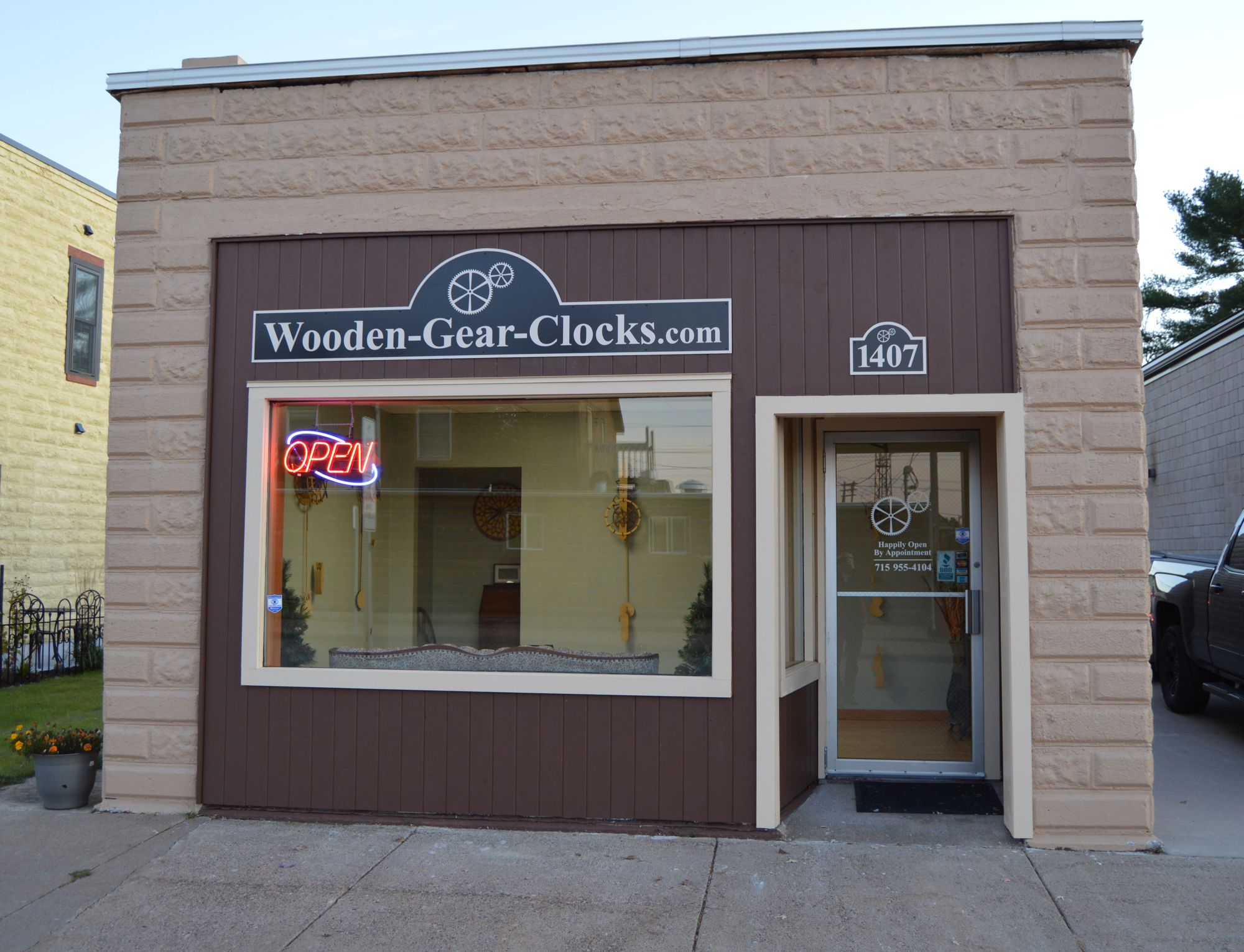 Wooden-Gear-Clocks store